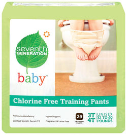 Seventh Generation Training Pants 3T-4T (32-40 lbs) - 22 ct.