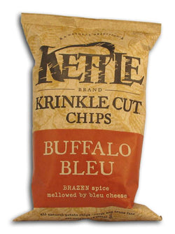 Kettle Foods Potato Chips Buffalo Bleu Krinkle - 12 x 9 ozs.