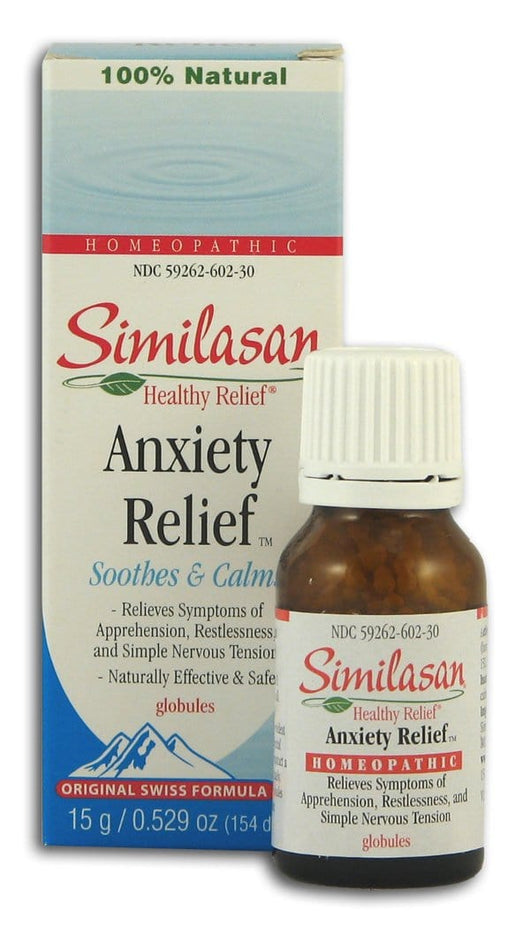 Similasan Anxiety Relief - 6 x 15 grams
