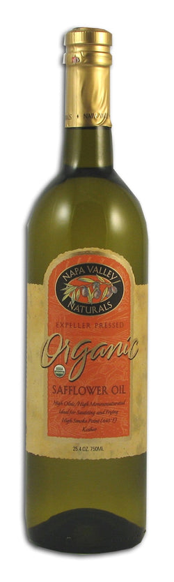 Napa Valley Safflower Oil(High Oleic) Organic - 25.4 ozs.