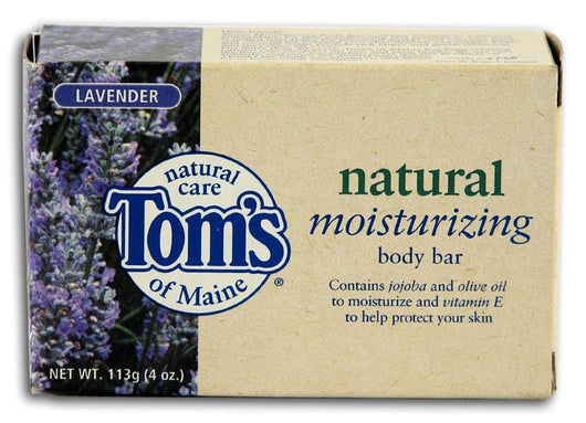 Tom's of Maine Bar Soap Relaxing with Lavender - 4 ozs.