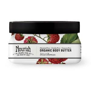 Nourish Body Butter, Wild Berries, Organic - 12 x 3.6 ozs.