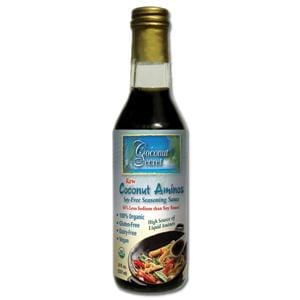 Coconut Secret Coconut Aminos Raw Organic - 12 x 8 ozs.