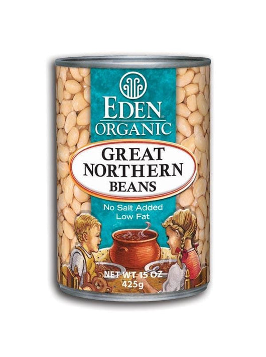 Eden Foods Great Northern Beans Organic - 12 x 15 ozs.