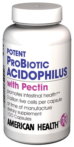 American Health Potent Acidophilus Supplement - 100 caps
