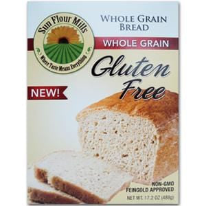 Sun Flour Mills Bread Mix, Whole Grain, Gluten Free - 6 x 17.2 ozs.