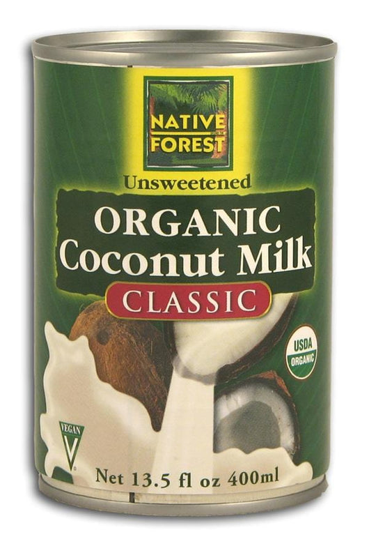 Native Forest Coconut Milk Organic - 12 x 13.5 ozs.