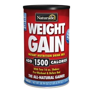 Naturade Weight Gain 1500 - 16.9 ozs.