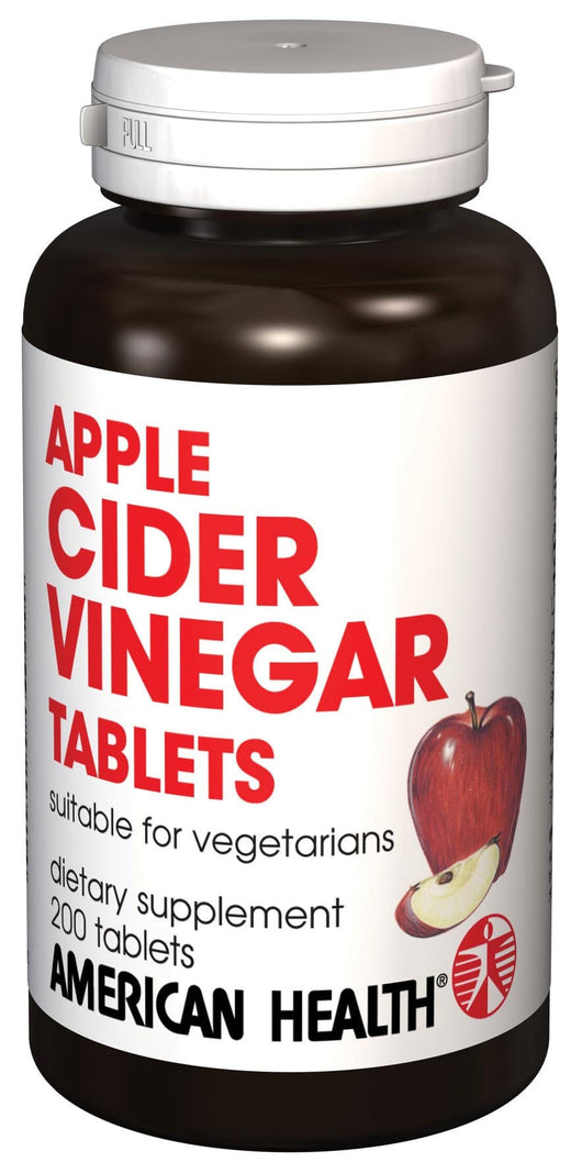 American Health Apple Cider Vinegar Tablets - 200 tablets