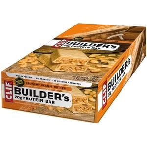 Clif Bar Builder Bar, Peanut Butter - 12 x 2.4 ozs.
