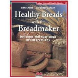 Books Healthy Breads with the Breadmaker - 1 book