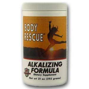 Body Rescue Alkalizing Formula Powder - 21 ozs.