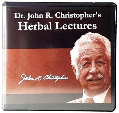 Books Dr. Christopher's Herbal Lectures - 10 CD Set