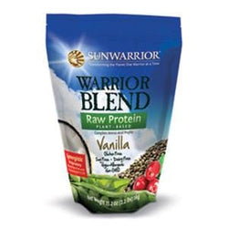 Sunwarrior Protein Powder, Warrior Blend, Vanilla - 2.2 lbs.