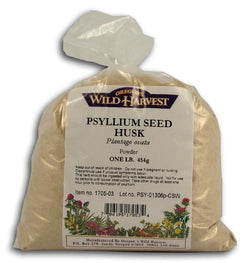 Oregon's Wild Harvest Psyllium Seed Husk Powder - 1 lb.