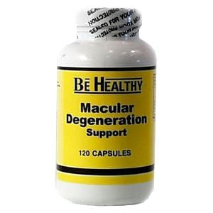 Be Healthy Macular Degeneration Support - 120 caps