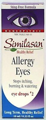 Similasan Allergy Eyes Drops - 6 x 0.33 ozs.
