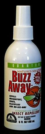 Quantum Buzz Away Insect Repellent - 6 ozs.