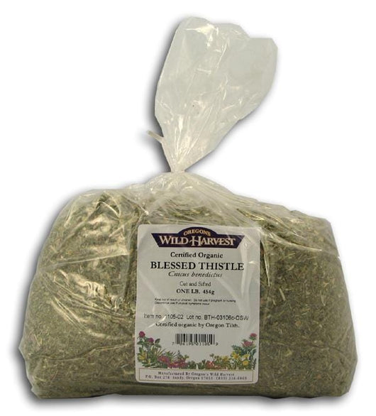Oregon's Wild Harvest Blessed Thistle Organic - 1 lb.