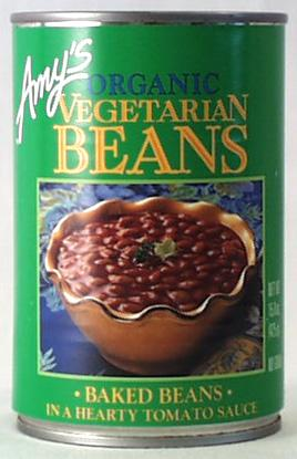 Amy's Vegetarian Baked Beans Organic - 12 x 15 ozs.