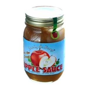 Middleton Organics Apple Sauce - Organic - 12 x 16 ozs.