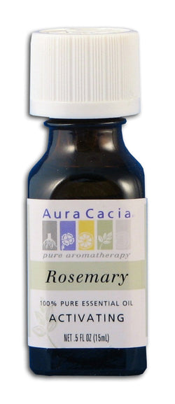 Aura Cacia Rosemary Oil - 0.5 oz.