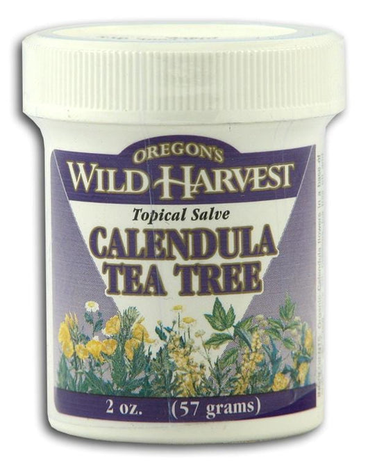 Oregon's Wild Harvest Calendula Tea Tree Topical Salve - 2 ozs.