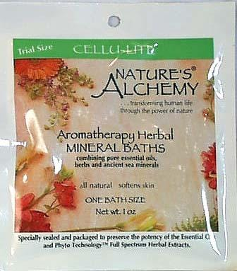 Nature's Alchemy Herbal Mineral Bath Cellu-Lite - 12 x 1 oz.