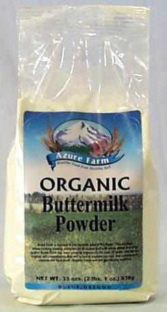 Azure Farm Buttermilk Powder Non-Instant Organic - 33 ozs.