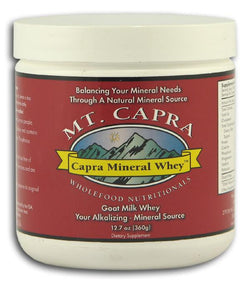 Mt. Capra Mineral Whey - 12.7 ozs.