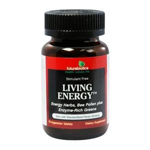 Futurebiotics Living Energy - 75 tablets