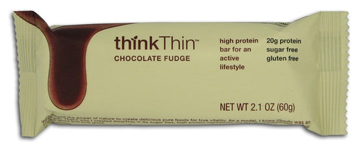 Think! Chocolate Fudge Low Carb Bars - 10 x 2.1 ozs.