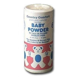 Country Comfort Baby Powder - 3 ozs.
