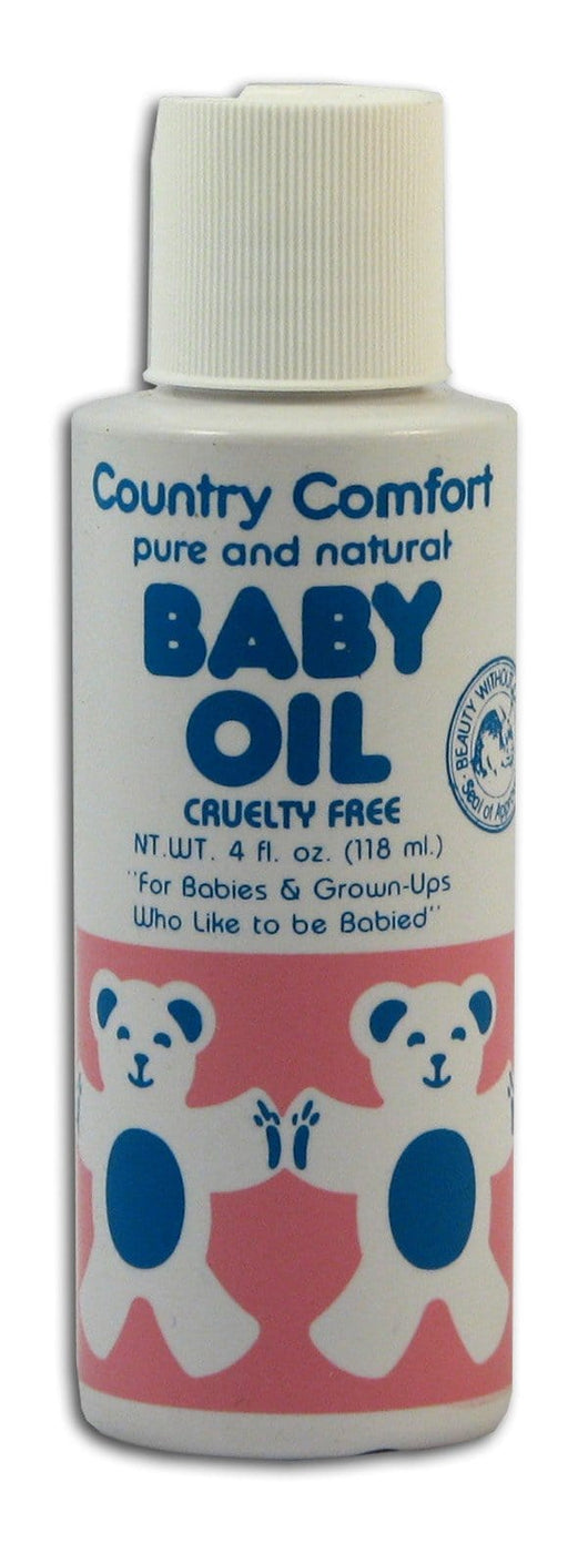 Country Comfort Baby Oil - 4 ozs.