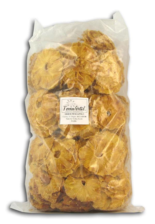 Bulk Pineapple Rings Organic - 5 lbs.