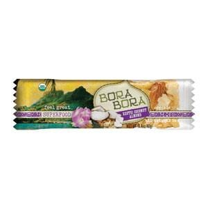 Bora Bora Organic Foods Exotic Coconut Almond Bars Natural - 12 x 1.4 ozs.