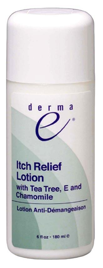Derma E Itch Relief Lotion with Tea Tree & E - 6 ozs.
