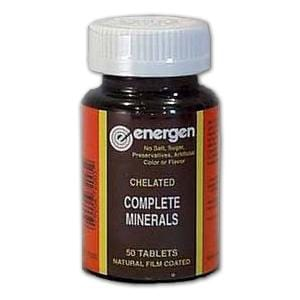 Energen Complete Minerals Chelated - 100 tablets