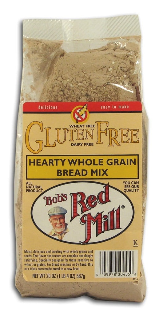 Bob's Red Mill Bread Mix Hearty Grain WF GF DF - 20 ozs.