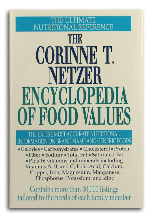 Books The Netzer Encyclopedia of Food Values - 1 book