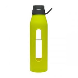 Takeya Glass Water Bottle, Green Apple - 22 ozs.