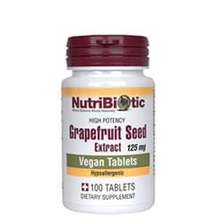 Nutribiotic Grapefruit Seed Extract 125mg - 100 tablets