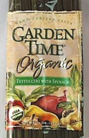 Gardentime Fettuccini with Spinach Organic - 10 lbs.