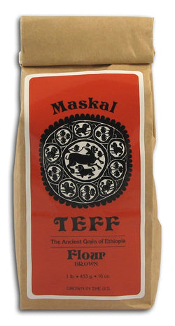 The Teff Co. Teff Flour Maskal Brown - 1 lb.