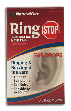 Natural Care Ring Stop Ear Drop - 0.5 ozs.