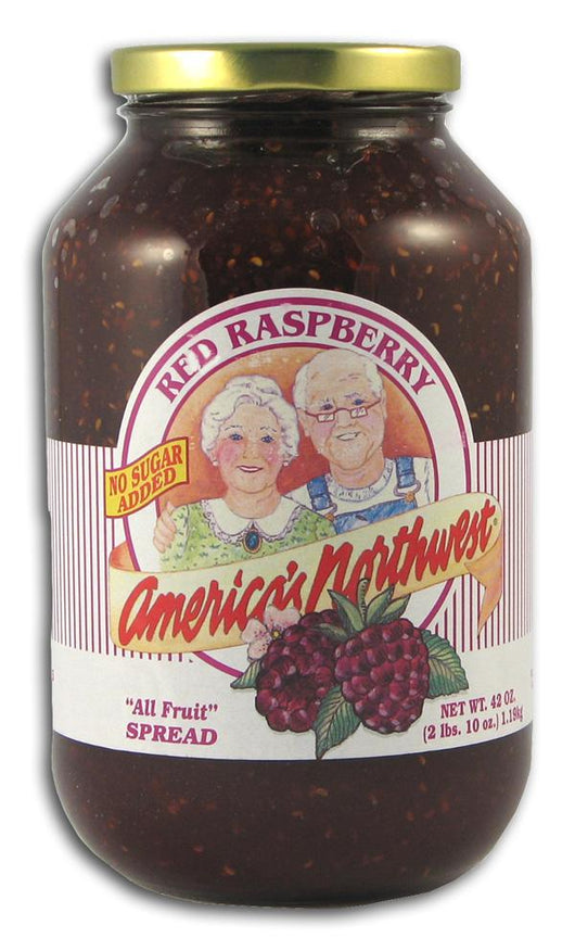 Columbia Empire Farms Jam Red Raspberry - 6 x 42 ozs.