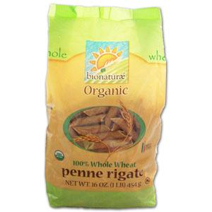 Bionaturae Penne Rigate 100% Whole Wheat Organic - 16 ozs.