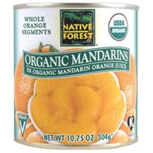 Native Forest Mandarin Oranges, Organic - 10.75 ozs.
