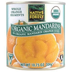 Native Forest Mandarin Oranges, Organic - 6 x 10.75 ozs.