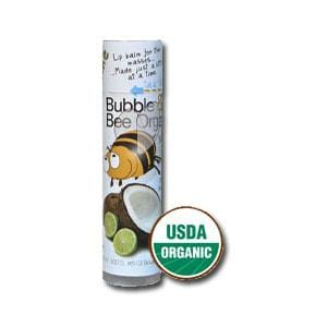 Bubble & Bee Organics Lip Balm Coconut Lime Organic - 1 tube